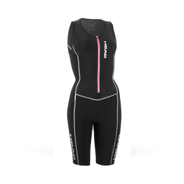 HEAD DAMSKI KOSTIUM TRIATHLONOWY TRI SUIT BLACK 452371