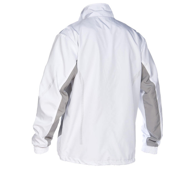 ARENA BLUZA ROZ  TL WARM UP JACKET  white/grey
