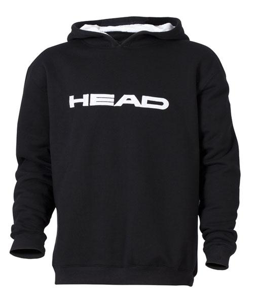 HEAD BLUZA Z KAPTUREM  TEAM HOODY JUNIOR ADULT black