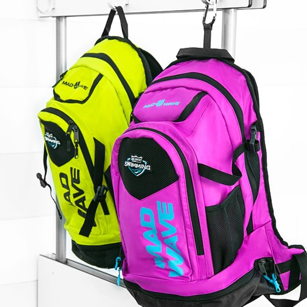 MAD WAVE PLECAK  BACKPACK LANE  PINK  M112604011W