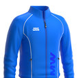 MAD WAVE ROZPINANA BLUZA  TRACK JACKET BLUE