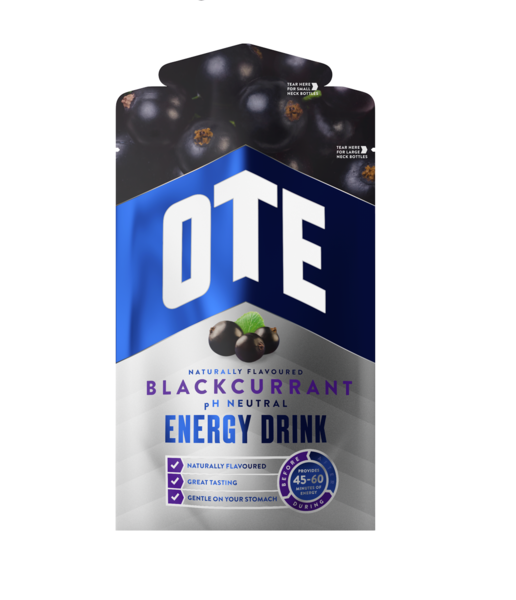 OTE ENERGY DRINK   BLACKCURRANT 43g