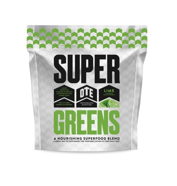OTE SUPER GREENS LIME FLAVOUR 390g TUB